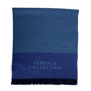 Versace Collection Unisex Wool Multi-Color Scarf
